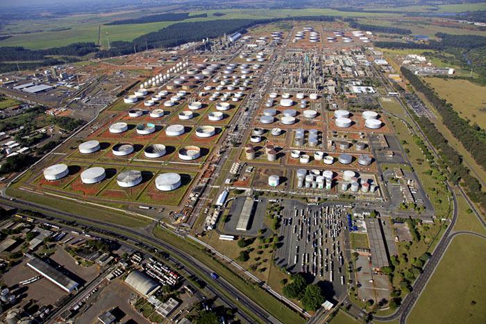 Resultado de imagem para refinaria de Paulínia