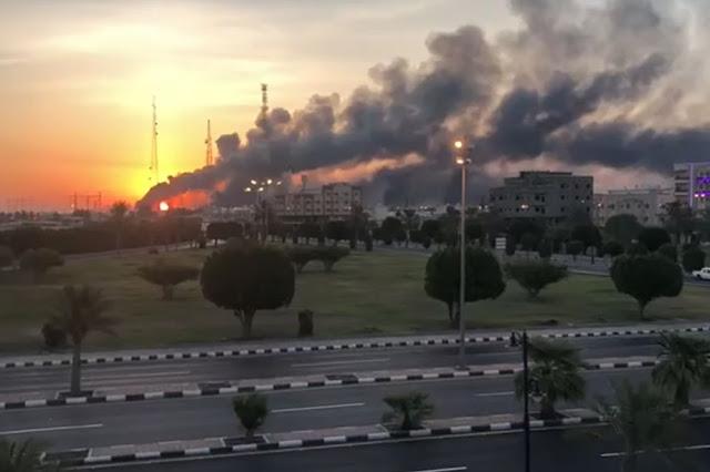 Resultado de imagem para Arábia Saudita refinaria