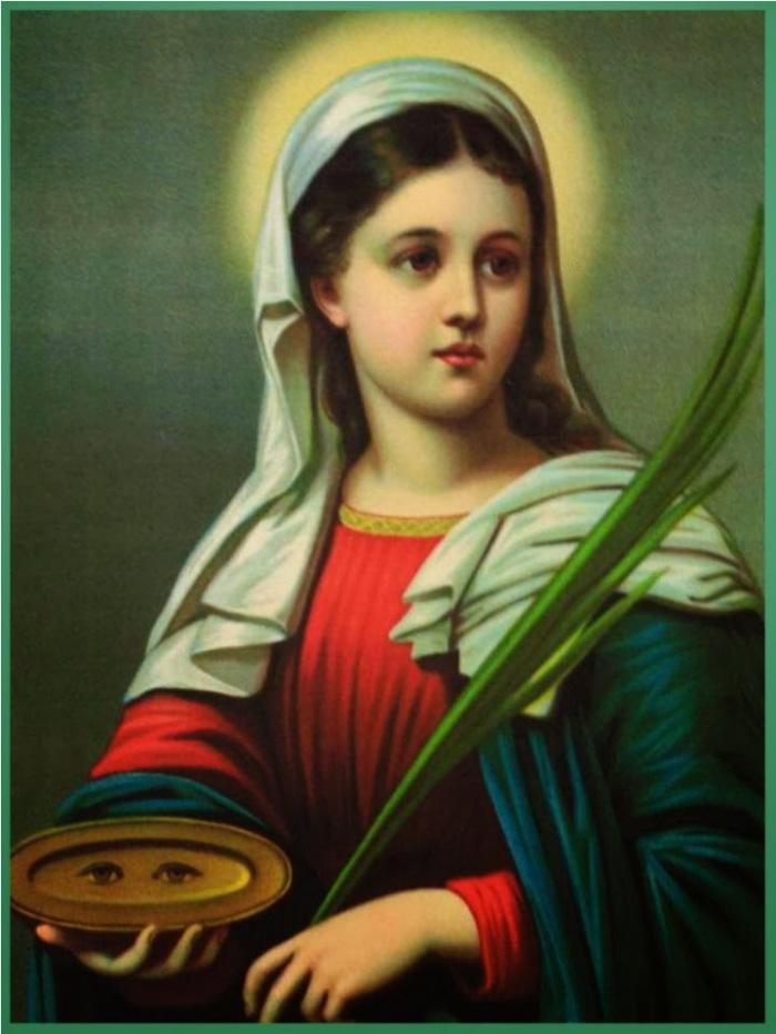 Santa Luzia (ou Santa Lúcia)